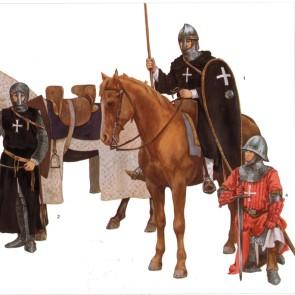 СЛОЎНІК Рыцары і бітвы