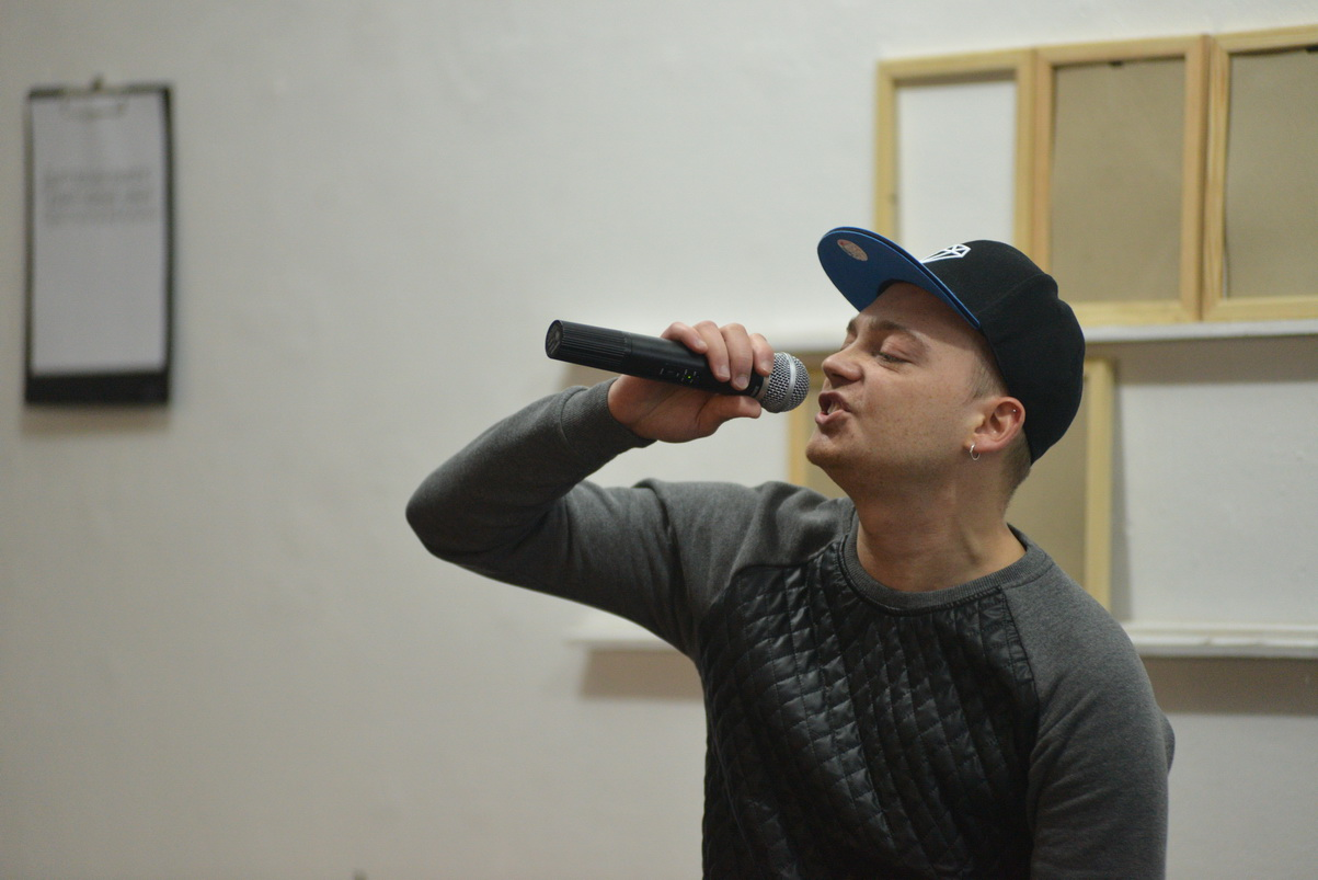 ВІДЭА Выступ рэпера SP Kava feat Mova nanova
