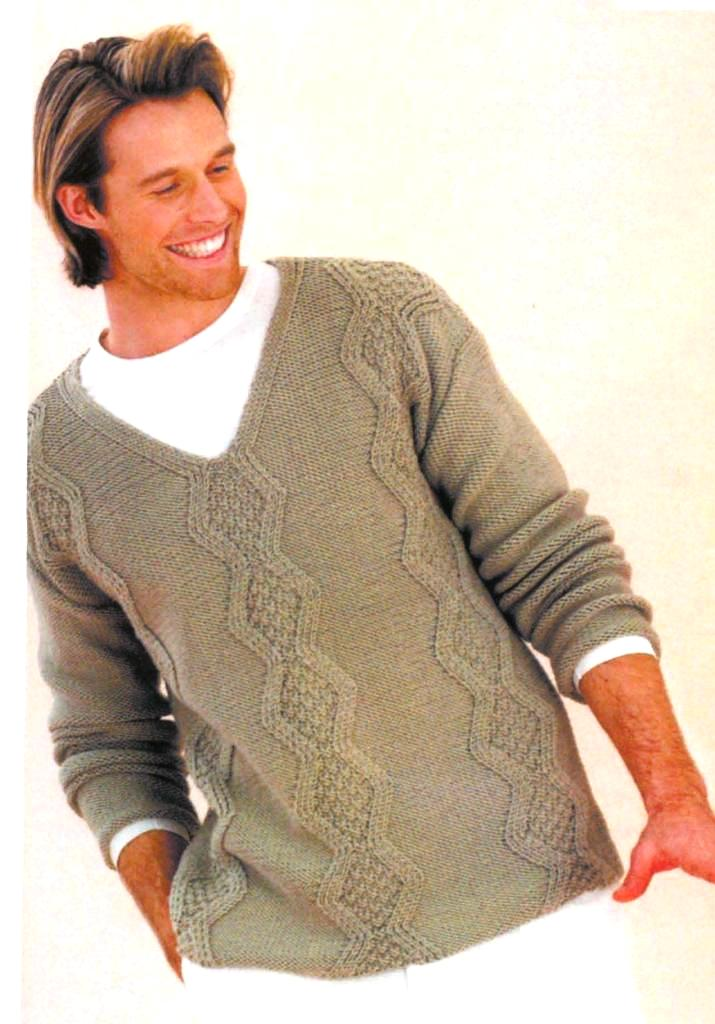 Мужской-пуловер