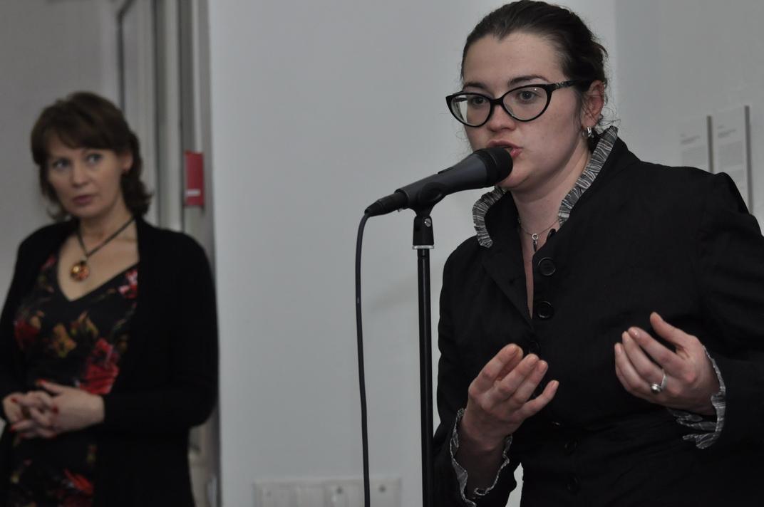 ВІДЭА Выступ Дар'і Каткоўскай 12.05.2014