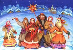 Калядкі з дзеткамі ў Ваньковічаў