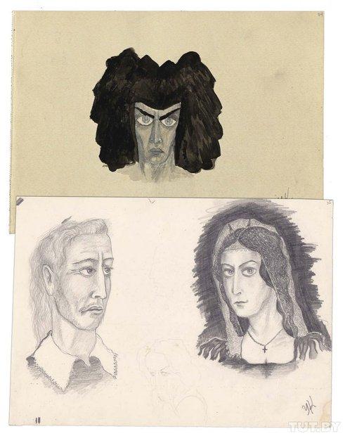 Малюнкі, 1950−1960-я гады.