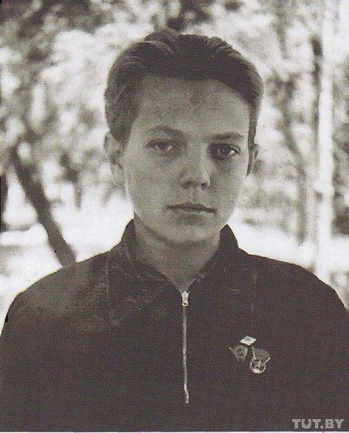 Уладзімір Караткевіч, 1950 год.