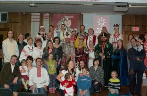 Мова Нанова ў Таронта. Беларускі народны строй