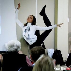ВІДЭА Поўны запіс заняткаў Мова Нанова — Мастацкая гімнастыка