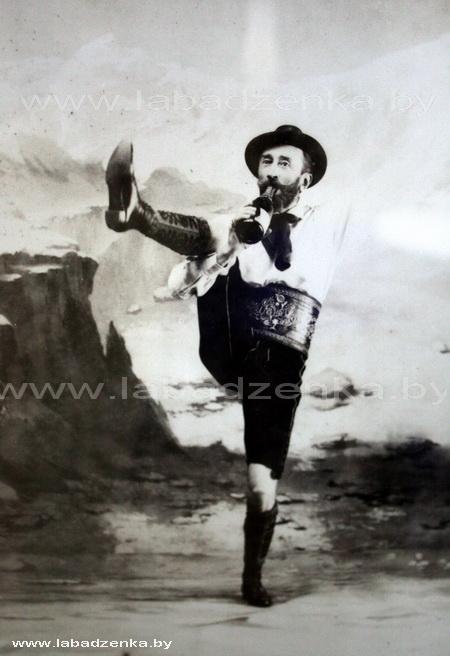 Бенедыкт Тышкевіч. Аўтапартрэт, горац-паляўнічы, Вялава, 1893