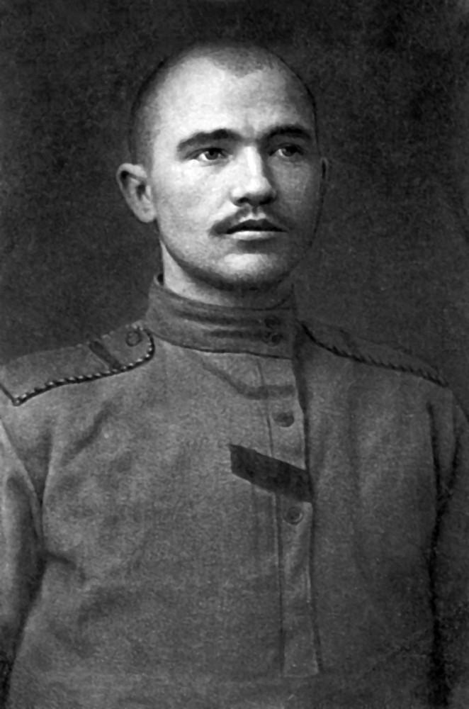 Максім Гарэцкі на вайсковай службе. 1916 г.