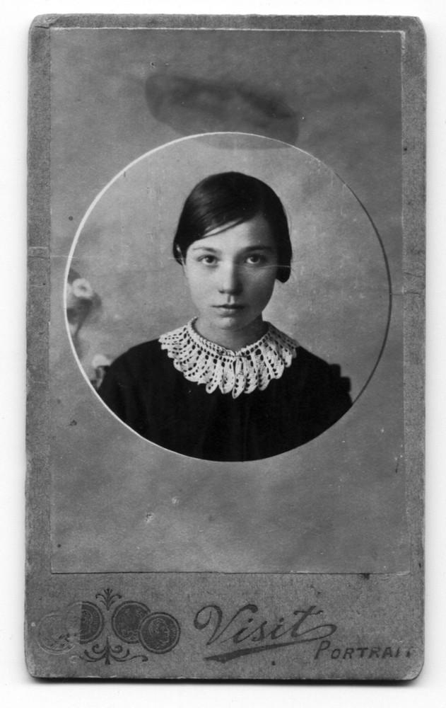 Ганна Гарэцкая. 1919 г.
