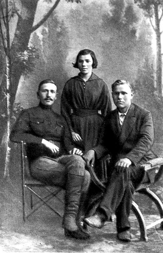 Парфір, Ганна і Гаўрыла Гарэцкія. 1921 г.
