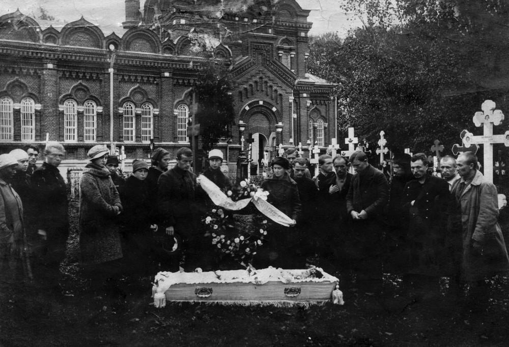 Пахаванне Ганны Гарэцкай. Масква. Галавіно. 20 верасня 1922 г.