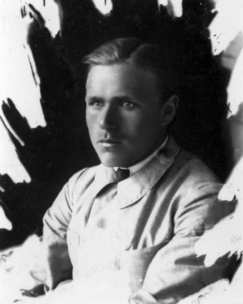 Гаўрыла Гарэцкі ў Маскве. 1923 г.