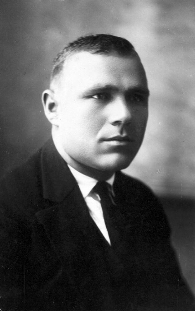 Гаўрыла Гарэцкі. Менск, снежань 1928 г.