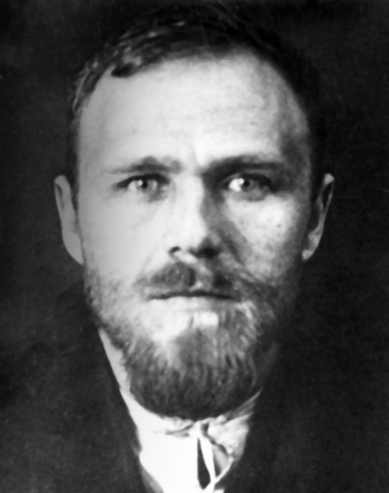 Гаўрыла Гарэцкі ў турме. Менск, 1930 г.