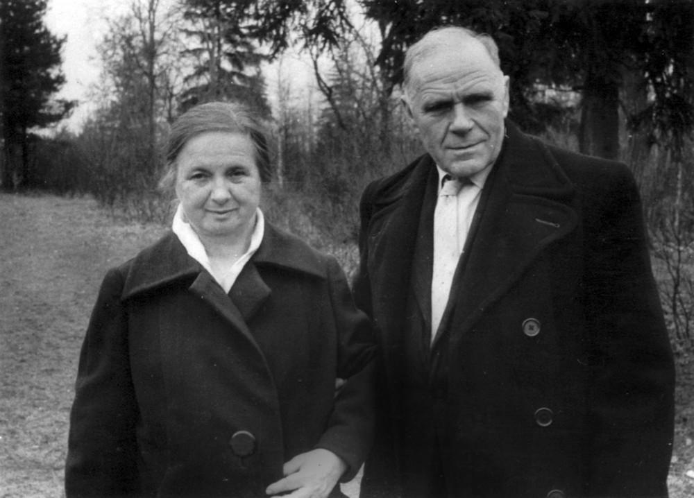 Ларыса і Гаўрыла Гарэцкія. г. Дзедаўск Маскоўскай вобл. 1965 г.